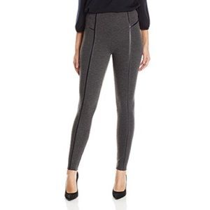 NWT Lysse Leather Inset Legging Charcoal Small